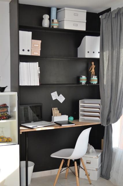 AGENCEMENT INTÉRIEUR: création coin bureau dans salle à manger ...