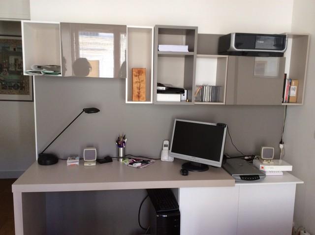 Amenagement poste bureau dans une chambre dami Modern Home