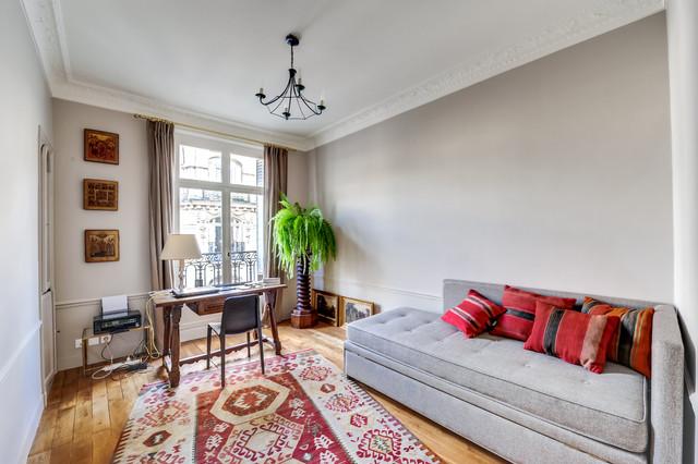 Appartement parisien 15 me di transizione studio for Interieur appartement parisien