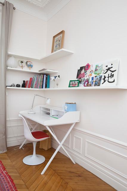 appartement rue de longchamp paris 16. Black Bedroom Furniture Sets. Home Design Ideas