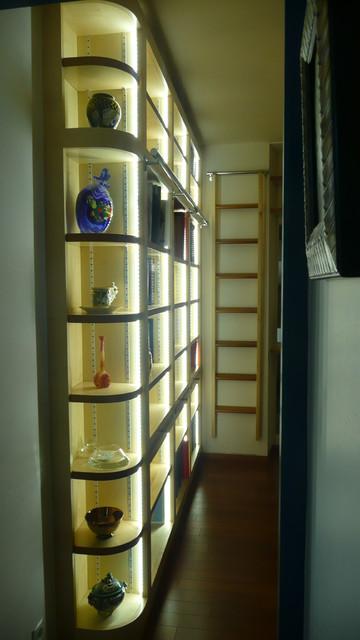 Éclairage Bibliothèque Led
