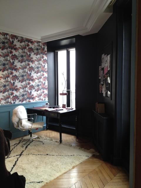 Bureau d'une créatrice de parfum rue de Londres eclectique-bureau-a-domicile