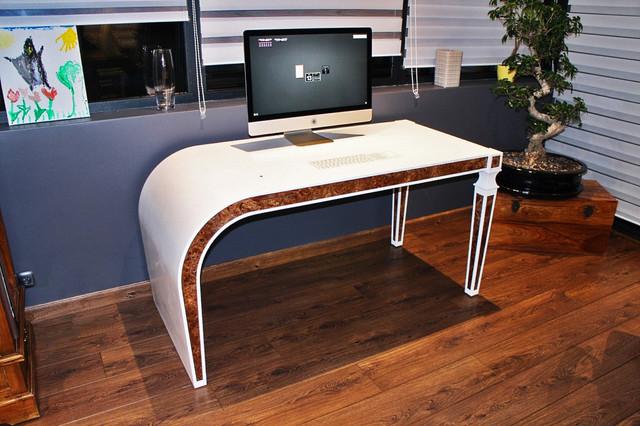 bureau int ractif louis xvi design en solid surface v korr contemporain bureau domicile. Black Bedroom Furniture Sets. Home Design Ideas