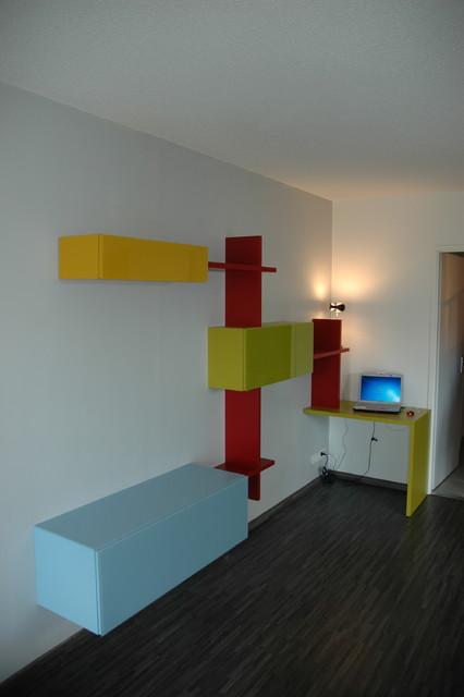 bureau ou arbre chat contemporain bureau domicile other metro par versusmobili. Black Bedroom Furniture Sets. Home Design Ideas
