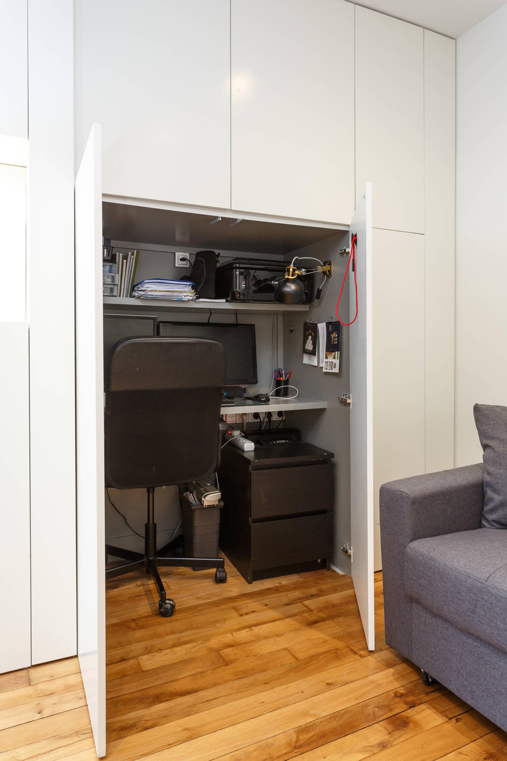 Comment intégrer un coin bureau dans l'espace salon?