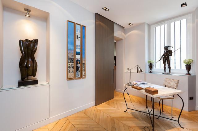 contemporain bureau domicile. Black Bedroom Furniture Sets. Home Design Ideas