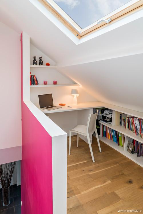 ces combles sont devenus une superbe suite parentale. Black Bedroom Furniture Sets. Home Design Ideas