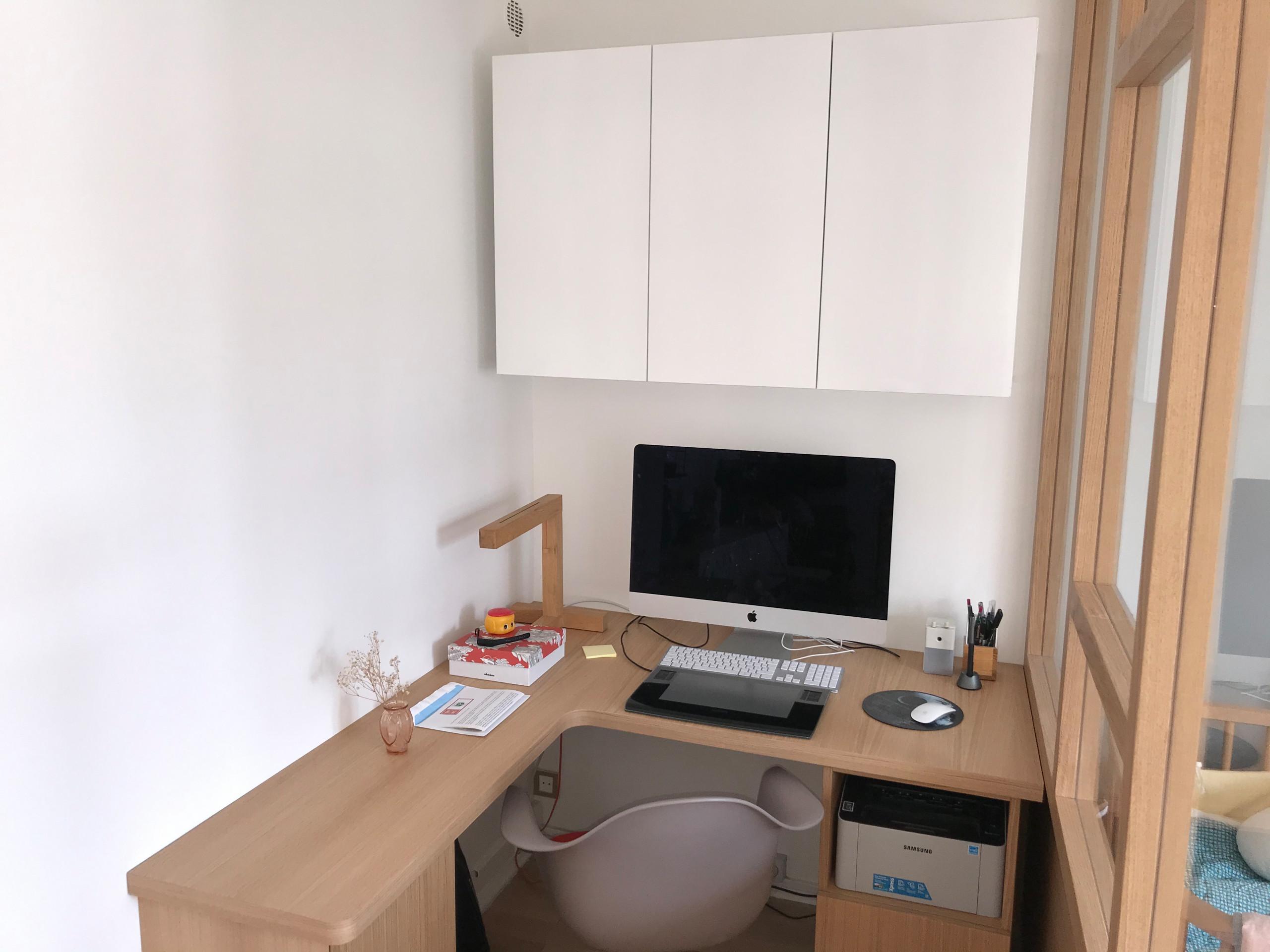 Optimisation d'un appartement pour y inclure un bureau à domicile