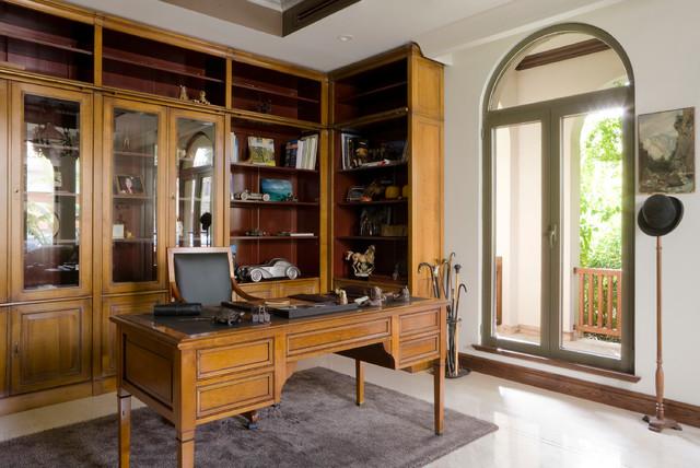 grange project bureau classique chic bureau domicile paris par grange paris. Black Bedroom Furniture Sets. Home Design Ideas