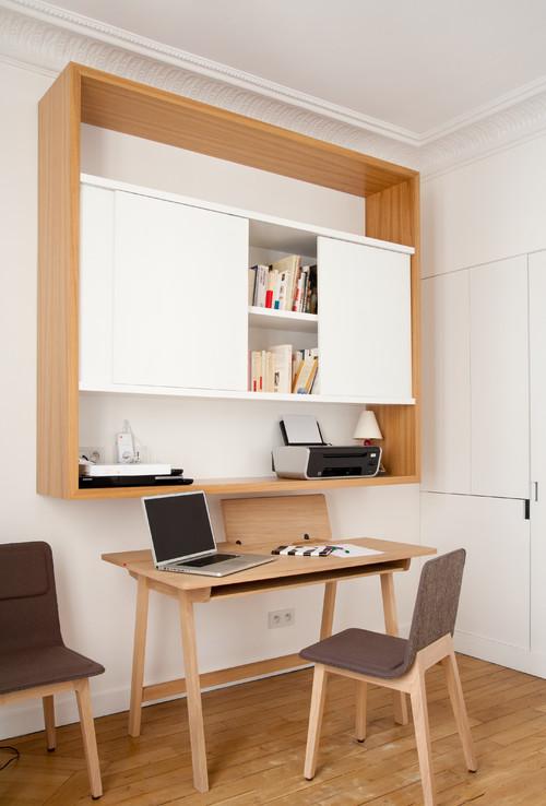o installer le coin bureau. Black Bedroom Furniture Sets. Home Design Ideas