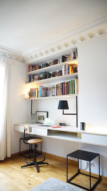 horizon contempor neo despacho par s de bardin architecte. Black Bedroom Furniture Sets. Home Design Ideas