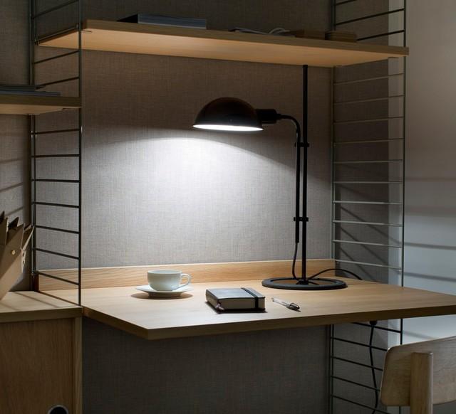 Industriel Lampe BureauFuniculiNoirH50 De 3cm Marset thsrCQxBdo