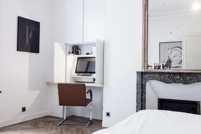 Géraldine laferté · architectes dintérieur louvre 200m2 contemporain bureau a domicile