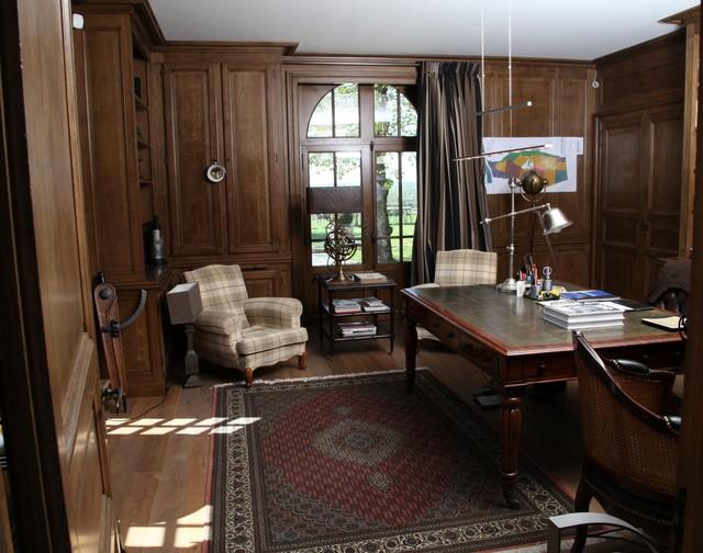 Luxury art deco home office for Designer di mobili francesi art deco