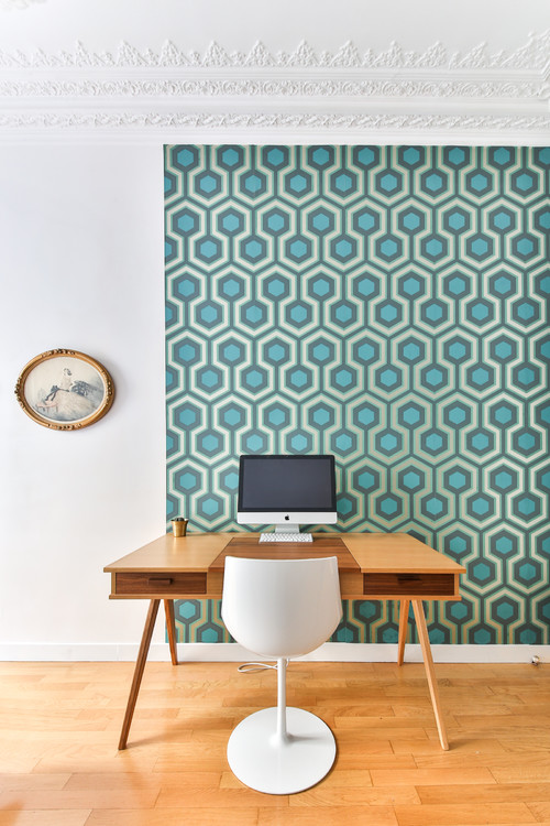 【Houzz】ホームオフィスを使いやすく整理する9の秘訣 10番目の画像