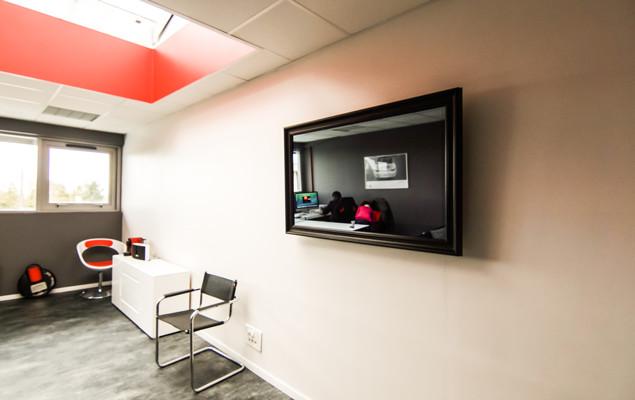 Miroir Tv Cadre Tv Hollandais Moderne Solution M Dia