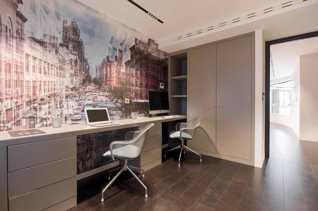 Moderne bureau à domicile