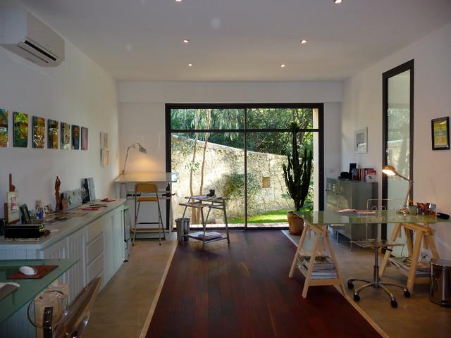 r novation compl te et am nagement int rieur d 39 anciennes curies et d 39 un chai contemporain. Black Bedroom Furniture Sets. Home Design Ideas