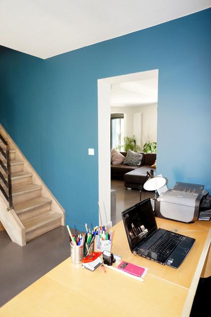 R novation d une maison des ann es 80 plaisance du touch 31 contemporar - Architecture des annees 80 ...