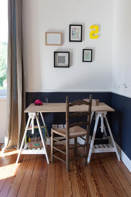 scandinave bureau domicile. Black Bedroom Furniture Sets. Home Design Ideas