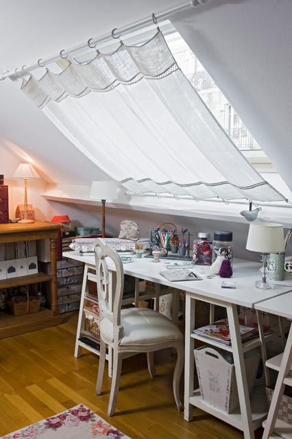shaby style romantique bureau domicile paris par. Black Bedroom Furniture Sets. Home Design Ideas