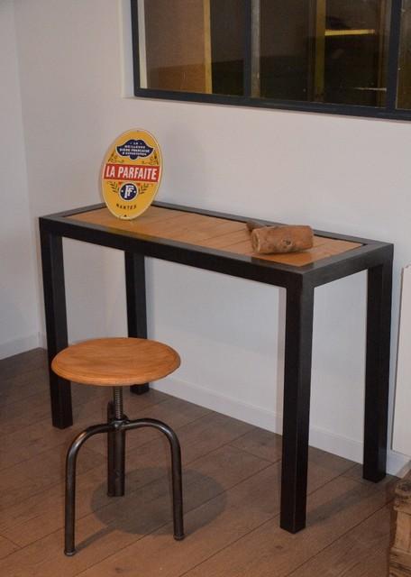 Tables Bureaux Consoles Et Gueridons Industriel Bureau