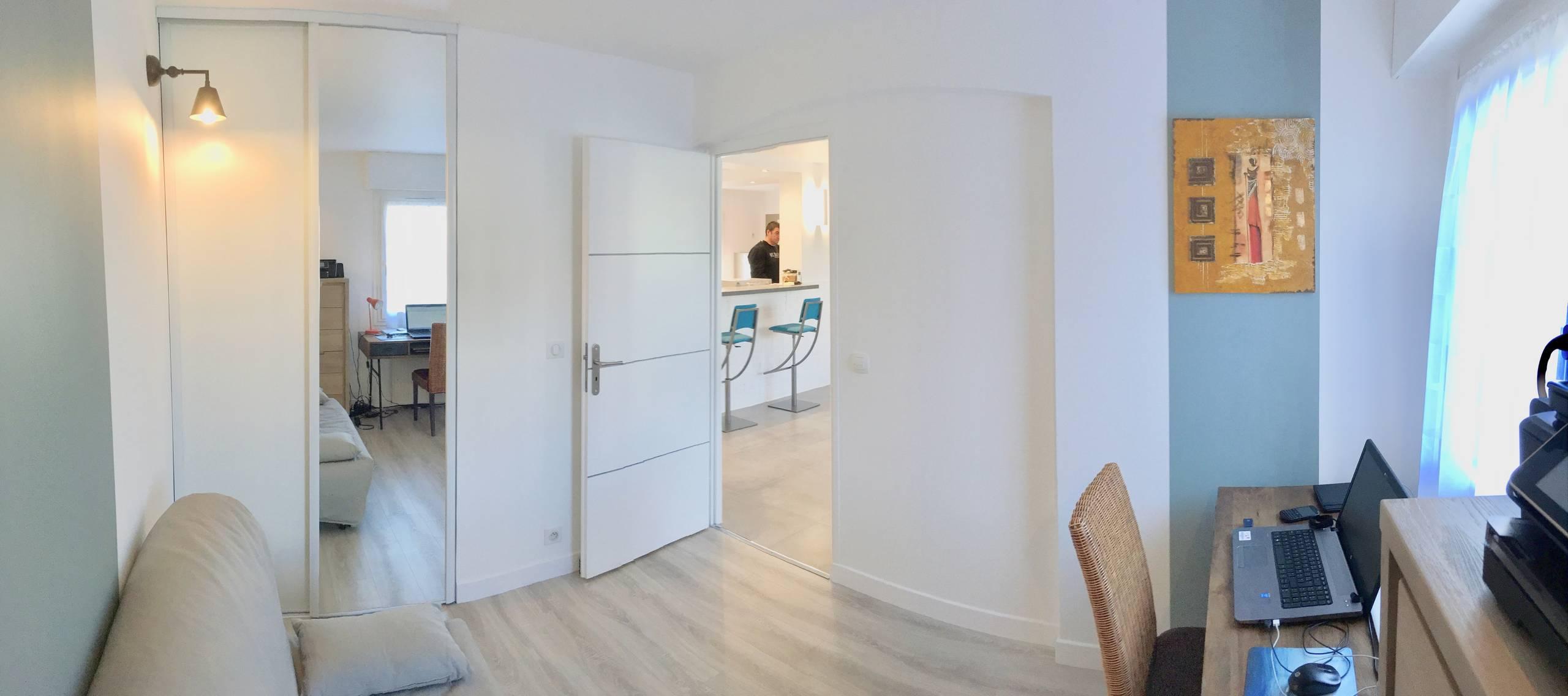 Transformation d'un appartement 4 pièces