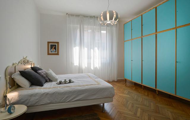 Appartamento bologna eclettico camera da letto bologna di maragucci - Biancheria da letto bologna ...