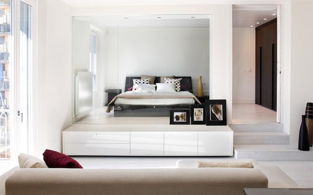 Appartamento previati milano - Camera da letto milano ...