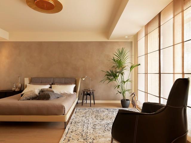 Camera Da Letto Matrimoniale Design.Appartamento Contemporaneo Camera Da Letto Altro Di