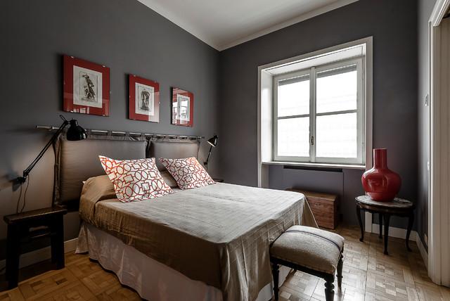 Apt luxury milano di transizione camera da letto milano di antonella bozzini - Camera da letto milano ...