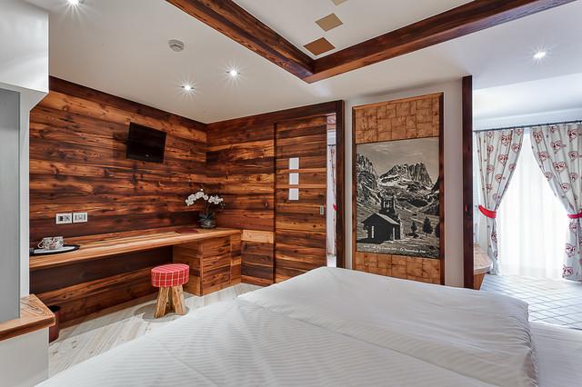 Arredamento in montagna camera da letto altro di - Camere da letto di montagna ...
