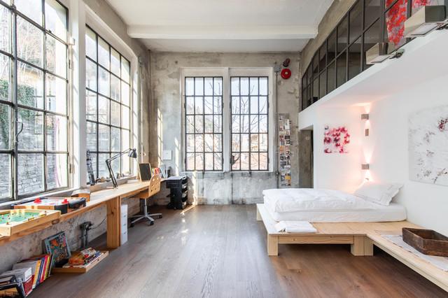 Artist\'s Loft Atelier - Industrial - Schlafzimmer - Mailand ...