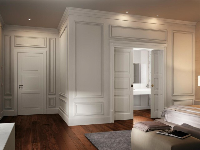 Boiserie - Traditional - Bedroom - Milan - by Showroom Le Porte