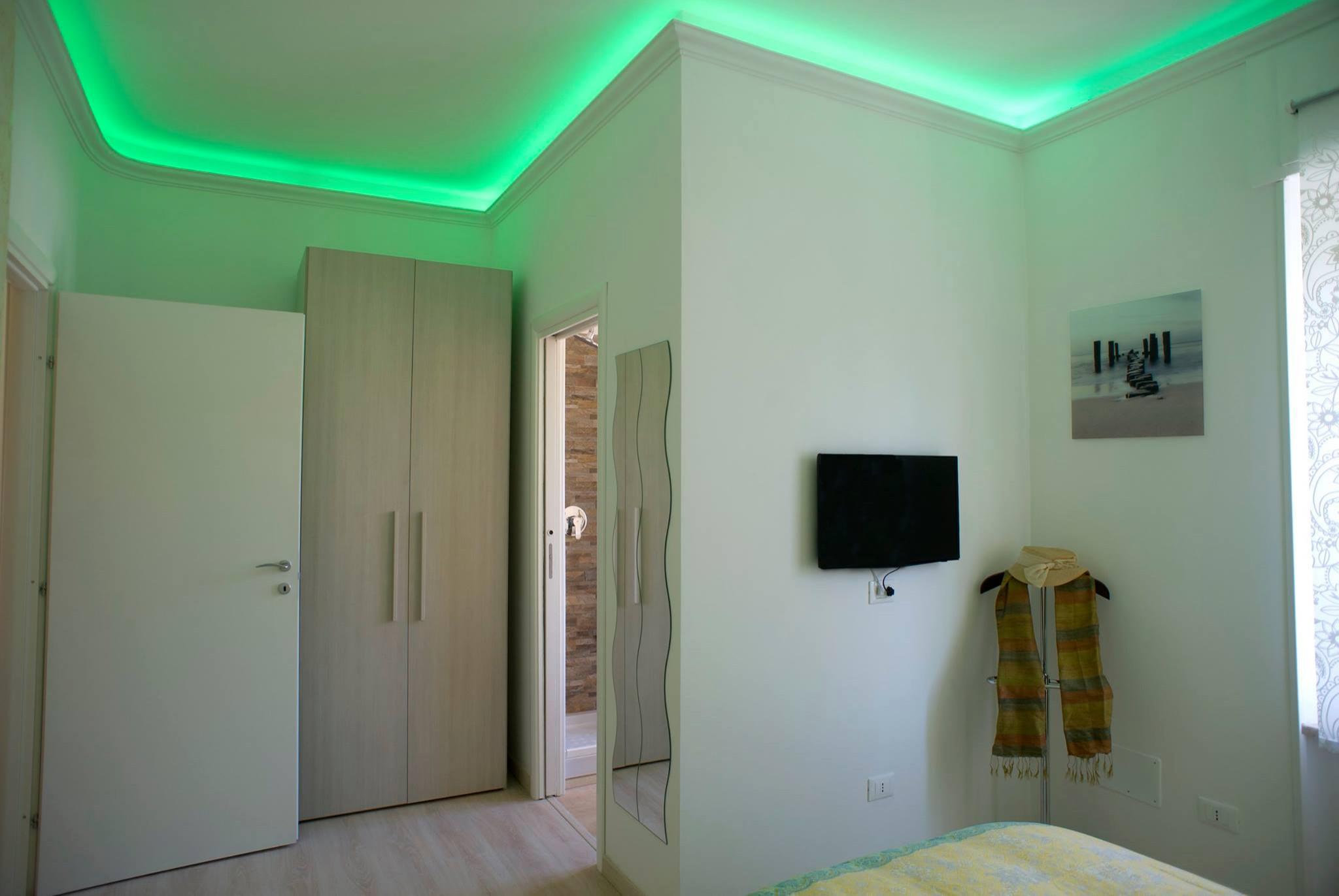 Casa con illuminazione Led