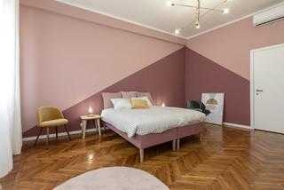 Camera da letto con pareti rosa - Design, Foto e Idee per ...