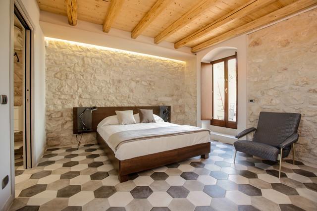 Casa salina in campagna camera da letto catania palermo di