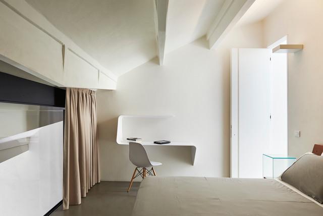 Casa vasilev contemporaneo camera da letto milano di leo torri - Camera da letto milano ...