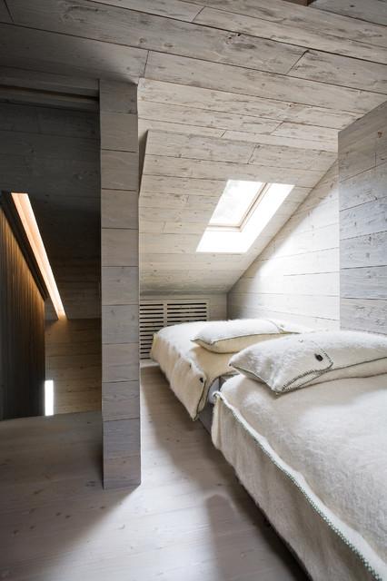 Cortina minimal in montagna camera da letto torino - Camera da letto minimal ...
