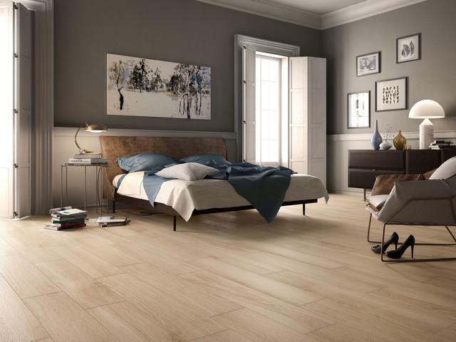 Effetto legno camera da letto altro di iperceramica - Piastrelle maxi formato ...