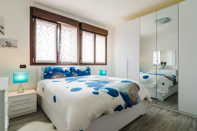 Foto appartamento milano contemporaneo camera da letto milano di zeropxl fotografia - Camera da letto milano ...