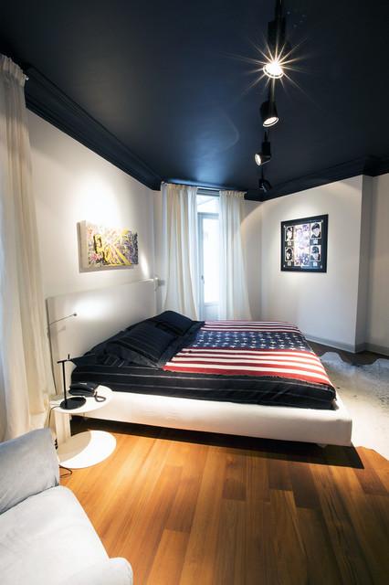 Liberty contemporaneo contemporaneo camera da letto milano di simone vesco - Camera da letto milano ...