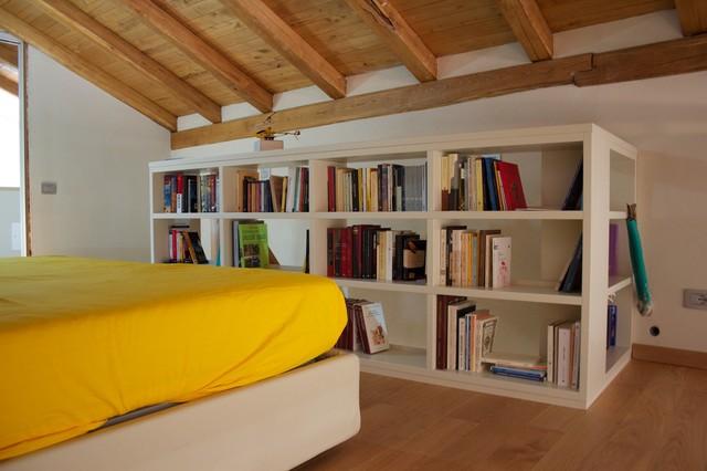Libreria su soppalco - Camera da letto soppalco ...