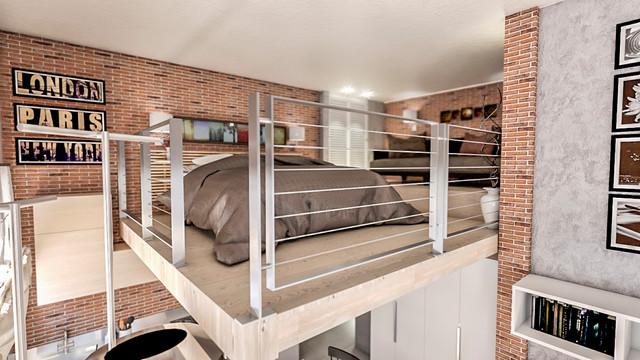 Mini Loft - Urban Industrial Style a Milano - Industrial ...