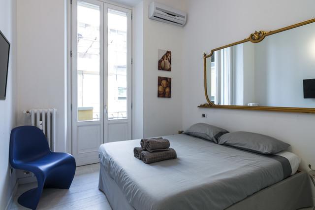 Photos design apartment milano moderno camera da letto milano di zeropxl fotografia - Camera da letto milano ...