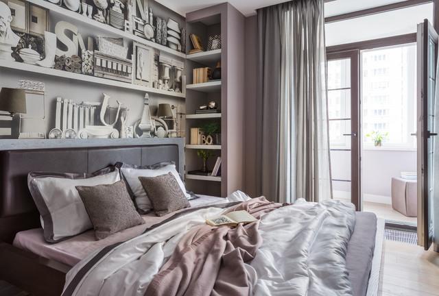 Camera Da Letto Con Pareti Rosa : Piccola parigi contemporaneo camera da letto mosca di k