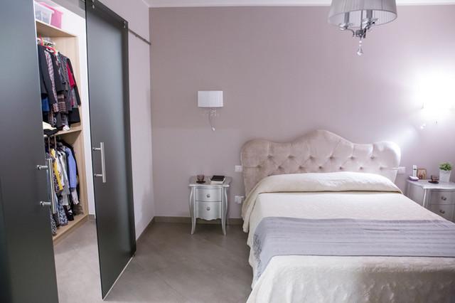 Progettazione ristrutturazione appartamento stile - Camera da letto stile contemporaneo ...
