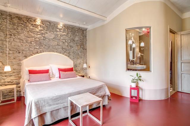 Progetto camere albergo Borgo Vista Lago - In Campagna - Camera da ...