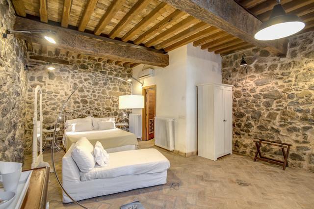 progetto camere albergo borgo vista lago - in campagna - camera da ... - Progettazione Camera Da Letto