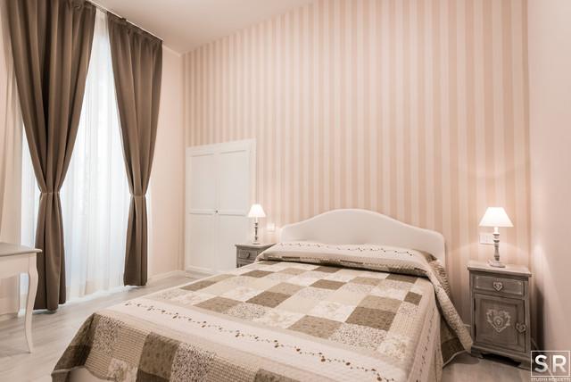 shabby - shabby-chic style - camera da letto - roma - di studio roscetti